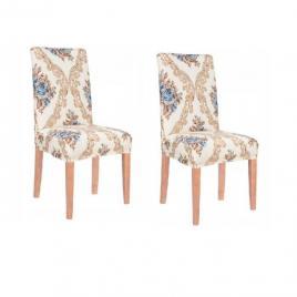 Set 2 huse glamour pentru scaun dining/bucatarie, din spandex