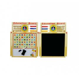 Tabla magnetica, cu 2 fete, educativa pentru copii