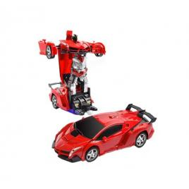 Masina transformers robot cu telecomanda