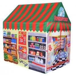 Cort de joaca pentru copii tip magazin multicolor supermarket