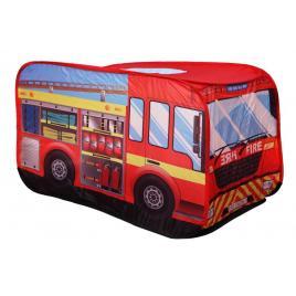 Cort de joaca pentru copii tip masina de pompieri, interior exterior