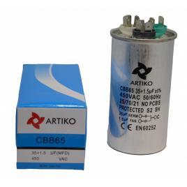 Condensator pornire motor aer conditionat 35+1.5uf
