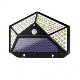 Lampa Solara cu Senzor De Miscare 100 de LED-uri,  raza de 120 Grade, Baterie 1800 mAh
