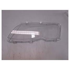 Dispersor sticla far bmw seria 3 (e46), sedan/combi,10.2001-06.2005, omologare ece, negru, 63126922588; 63126923410, dreapta kft auto