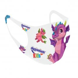 Masca pentru copii reutilizabila Dinozaur
