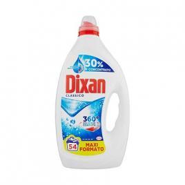 Detergent de rufe lichid dixan classico 54 spalari 2.7ltr
