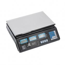 Cantar Electronic 40Kg, precis, afisaj dublu, platan Inox, acumulator inclus, autonomie mare