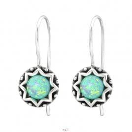 Cercei din Argint 925 cu Opal