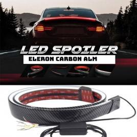 Eleron sport portbagaj , luneta alm carbon cu functie de pozitie si stop frana led