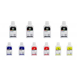 Pachet flacon cerneala ink-mate compatibil brother 4x lc127xlbk negru 2x lc125xlc cyan 2x lc125xlm magenta 2x lc125xly galben 5000 ml