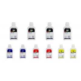 Pachet flacon cerneala ink-mate compatibil brother 4x lc129xlbk negru 2x lc125xlc cyan 2x lc125xlm magenta 2x lc125xly galben 5000 ml