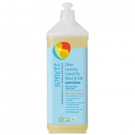 Detergent ecologic lichid pentru lana si matase neutru sonett 1l