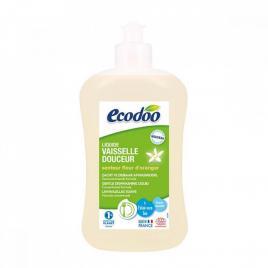 Ecodoo detergent lichid bio pentru vase cu aloe vera si floare de portocal 500ml