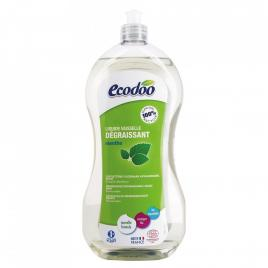 Ecodoo detergent bio vase ultradegresant cu otet si menta 1l