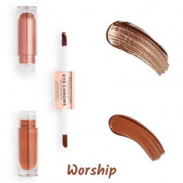 Fard lichid eye eye chrome worship 2 x 2.2 ml, makeup revolution