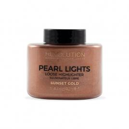 Iluminator pearl lights, sunset gold, 25 g, makeup revolution