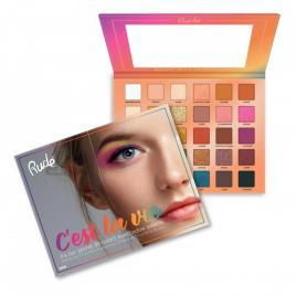 Paletă farduri ochi rude cosmetics c´est la vie 30g