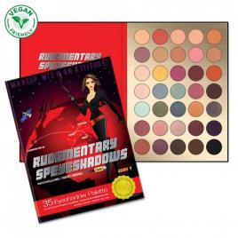 Paletă farduri ochi volumul 7 rude cosmetics rudementary 38g