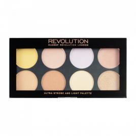 Paleta de make-up ultra strobe and light, 15 g, makeup revolution