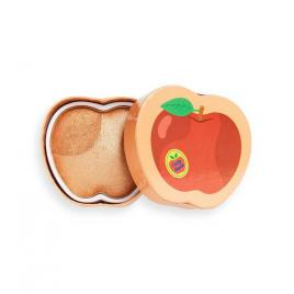 Pudră blush iluminatoare i heart tasty 3d apple 15 2gr, makeup revolution