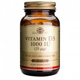 Vitamin d3 1000ui solgar 100cps