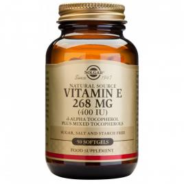 Vitamin e 400ui solgar 50cps