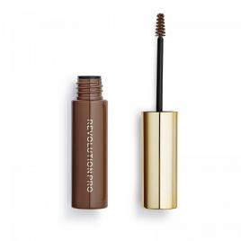 Volume and sculpt, gel pentru sprancene, warm brown, 6 ml, makeup revolution