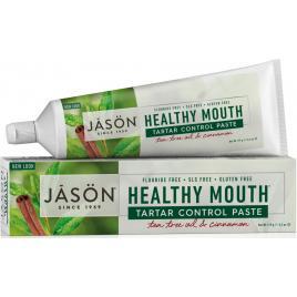 Pasta de dinti anti-placa si tartru, healthy mouth, pt. gingii iritate, jason,...