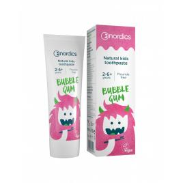 Pasta de dinti bubble gum pentru copii, nordics, 50 ml
