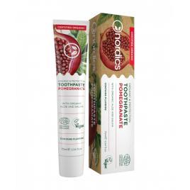 Pasta de dinti organica cu fluor, rodie, aloe si salvie, pentru protectie,...