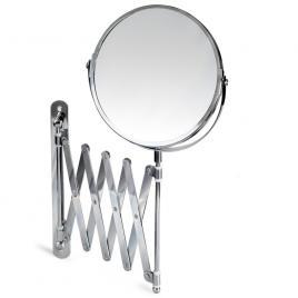 Oglinda pentru machiaj tatkraft aurora, factor de marire 3x, cromat