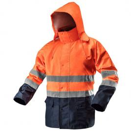 Jacheta de lucru reflectorizanta impermeabila portocalie nr.52 neo tools 81-721-l