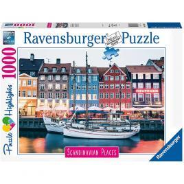 Puzzle copenhaga danemarca 1000 piese