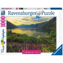 Puzzle fiord norvegia 1000 piese
