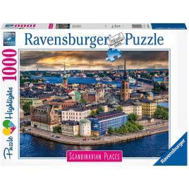 Puzzle stockholm suedia 1000 piese