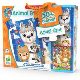 Puzzle inalt de podea - animale prieteni