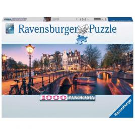 Puzzle noaptea in amsterdam 1000 piese