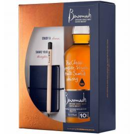 Benromach 10yo +note book, whisky 0.7l