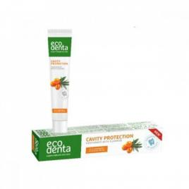 Pasta de dinti naturala cu catina pentru protectia cavitatii orale, ecodenta,...