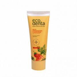Pasta de dinti pentru copii cu aroma de capsuni si morcov, ecodenta, 75 ml
