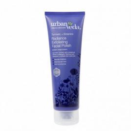 Exfoliant pentru curatare faciala cu extract de turmeric organic pentru ten...
