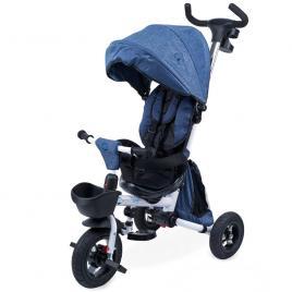 Tricicleta pliabila cu scaun rotativ davos albastru kidscare