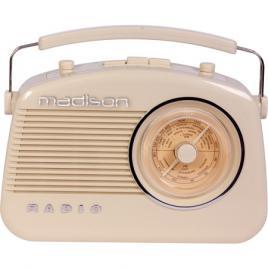 Radio retro fm portabil 15w cu functie bluetooth, aux