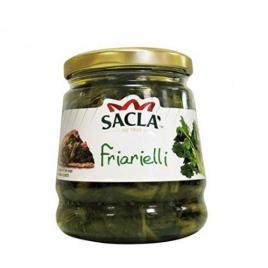 Conserva italiana din broccoli in ulei de floarea soarelui sacla friarielli 314g