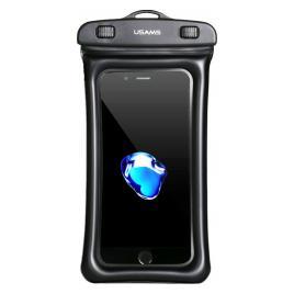 Husa Universala Waterproof pentru telefon 6 inch YD007 6FSD701 USAMS Negru