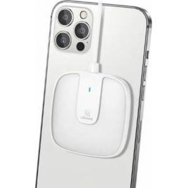 Incarcator Wireless Usams US-CD153 MagSafe 15W Quick Charge Alb