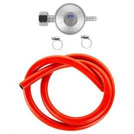 Set reductor gaz cu furtun 1m si coliere