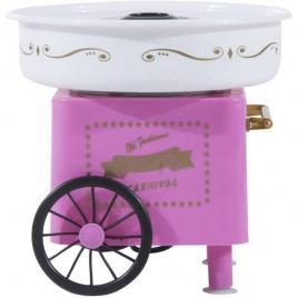 Aparat de facut vata de zahar pe bat, cotton candy maker 500w, roz