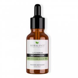 Bio hydration hemi-squalane super serum derivat din plante 100%, bio balance,...