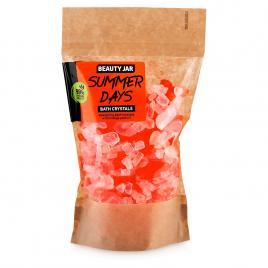 Cristale de baie energizante cu ulei din coaja de portocala si sare de mare,...